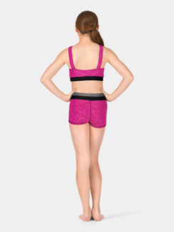 Child Colorblock Yoga Shorts