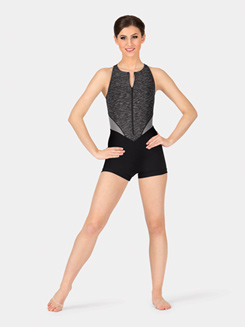 Adult Colorblock Shorty Unitard