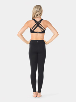 Adult Crisscross Back Compression Tank Sports Bra