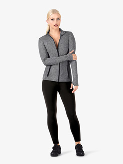 Womens Full Zip Athletic Jacket