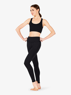 Womens Compression Basic Workout Leggings