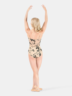 Camisole Flocked Leotard