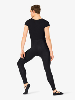 Mens Dance Short Sleeve Leotard