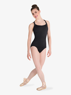 Womens Tiler Peck Double Strap Tank Leotard