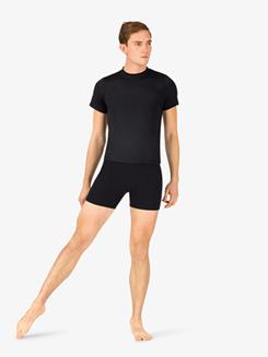Mens Basic Cotton Dance Shorts