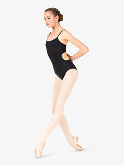 Womens Open Back Camisole Leotard