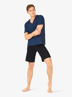 Mens Drawstring Dance Shorts