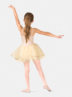 Girls Camisole Embroidered Tutu Dress