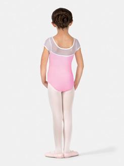 Girls Sweet Surrender Short Sleeve Ballet Leotard