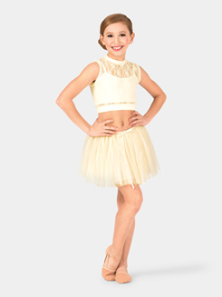 Girls Paulina Mesh Tutu Skirt