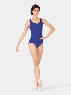 Adult Cutout Back Tank Leotard