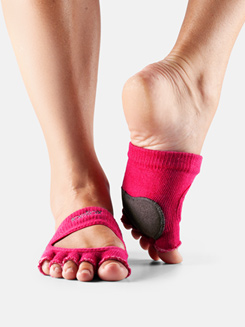 Adult Releve Half Toe Socks