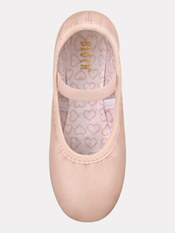 Belle Child Full Sole Leather Ballet Slippers