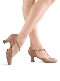 Womens Splitflex T-Strap Character Shoe