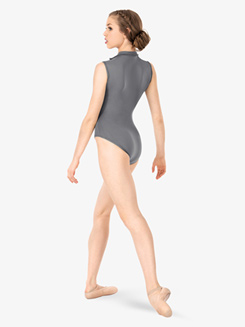 Adult Zip Front Sleeveless Leotard