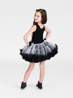 Child Sequin Tank Tutu Costume Dress