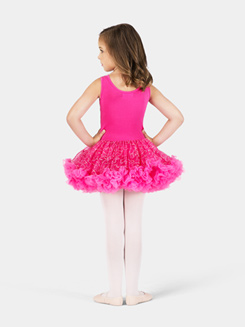 Child Fuchsia Sequin Tutu Costume Dress