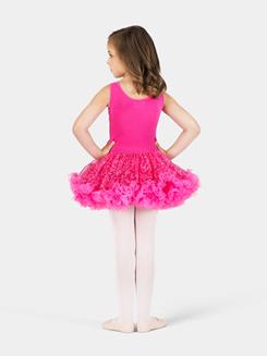 Child Fuchsia Sequin Tutu Dress