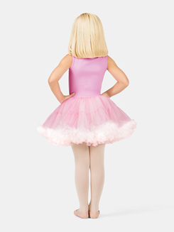Girls Tank Pink Sequin Bodice Tutu Dress