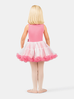 Child Tank Coral Lace Bodice Tutu Dress