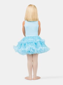 Girls Tank Blue Sequin Bodice Tutu Costume Dress