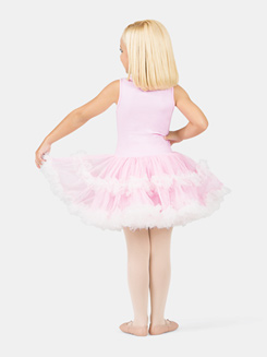 Girls Tank Pink Lace Bodice Tutu Dress