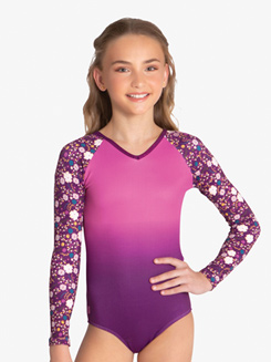 3e696f9d515f5 was $50.00, Danznmotion Womens Strappy Back Long Sleeve Leotard