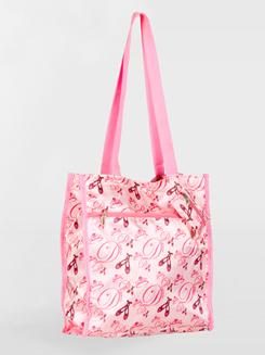Satin Ballerina Tote Bag