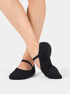 Adult Split-Sole Canvas Ballet Slipper