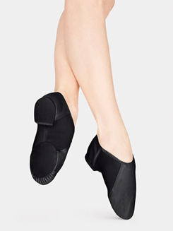 Girls Neoprene Arch Slip-On Jazz Boot