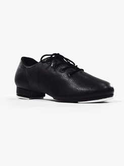 Womens Tham Lace Up Leather Tap Shoes