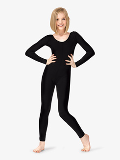 Adult Scoop Front Long Sleeve Unitard