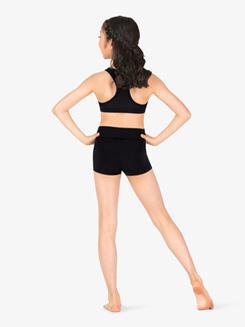 Girls Team Basics Wide Waistband Shorts