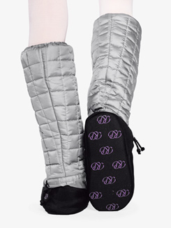 Womens Quilted Tall Warm-up Booties