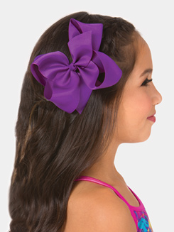 6 Bow Hair Barrette
