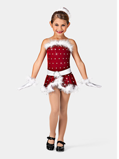 Santas Helper Girls Costume Set