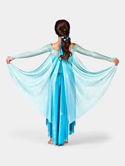 Let It Go Girls Long Sleeve Dress