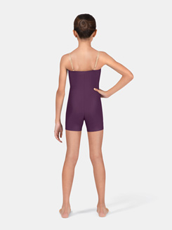 Girls Shorty Unitard