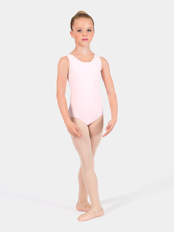 Girls Scoop Neck Tank Leotard
