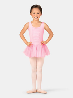 Child Gathered Tank Ballet Dress