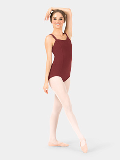 Adult Double V-Strap Camisole Leotard