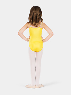 Satin Basic Child Camisole Leotard