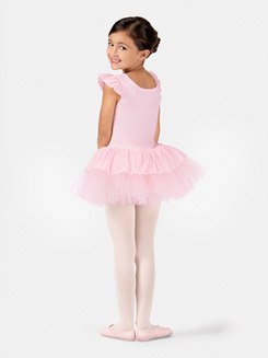 Child Flutter Sleeve Ballet Dress