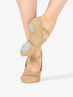 Womens Canvas Ballet Shoes