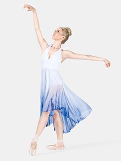 Adult Hi-Low Halter Dress
