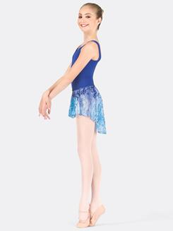Girls Lace Hi-Lo Skirt