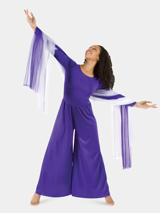 Girls Worship Long Sleeve Jumpsuit - Style No 0569