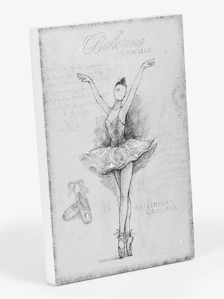 Ballet Wooden Wall Plaque - Style No 10551