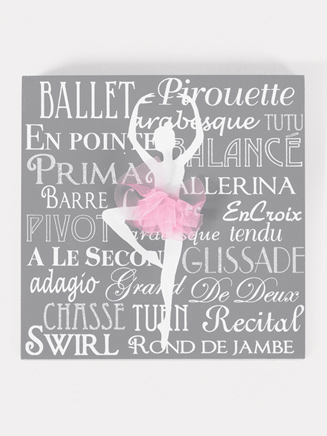 Ballet Decorative Plaque - Style No 10848