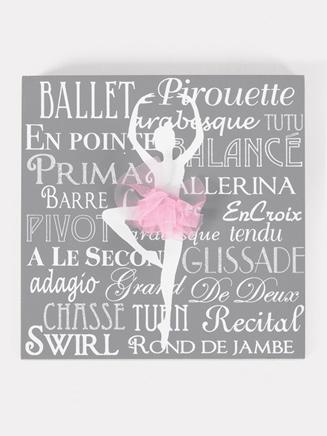 Ballet Decorative Plaque - Style No 10848